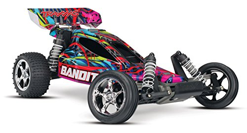 Traxxas Bandit 1/10 Scale Off-Road Buggy Vehicle with TQ ...