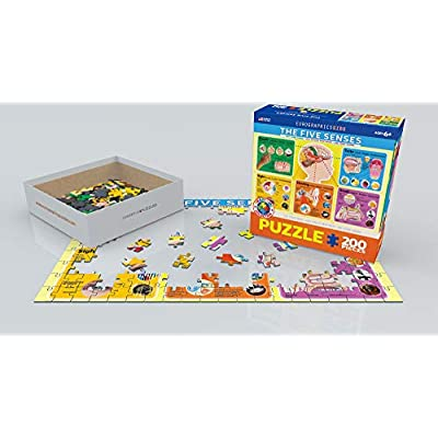 EuroGraphics Five Senses Jigsaw Puzzle (200-Piece): Toys & Games