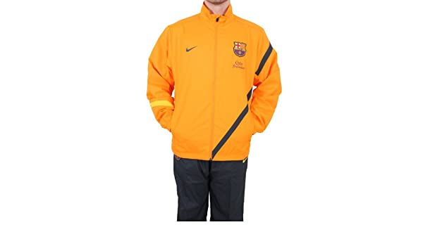 Nike - Barcelona Chandal NA 11/12 Hombre Color: Naranja Talla: M ...