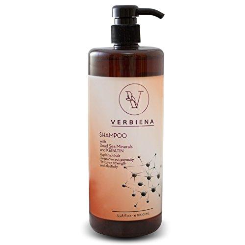 Dead Sea Salt With Keratin Complex Hair Growth Treatment Shampoo With Dead Sea Salt - Mineral Salt Treatment