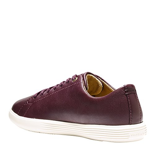 Cole Haan Mujeres Grand Crosscourt Sneaker Malbec Leather-ivy