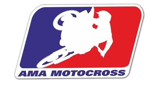 Pegatina adhesiva para coches y motos Ama Motocross 15 x 8 cm ...