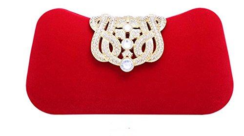 femme Ledyoung Pochette Ledyoung Pochette Red pour 1zvY6nq
