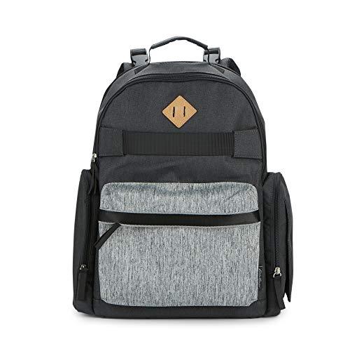 Eddie Bauer Stowaway Back Pack Diaper Bag, Burgundy