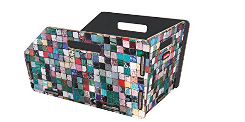 KLICKfix Farradtasche Radkiste 1 Gta Mosaik, 0325MGTA