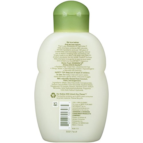 Johnson S Natural Baby Shampoo  Ounce Pack Of