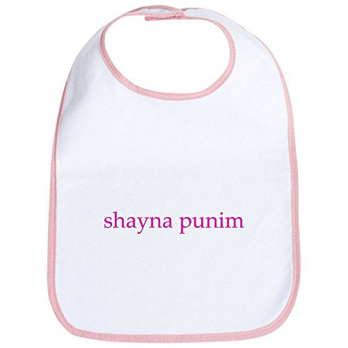 CafePress - Shayna Punim Bib - Cute Cloth Baby Bib, Toddler Bib ()