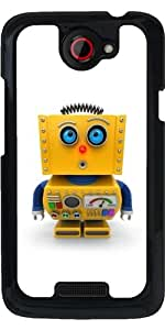 Funda para HTC one x - Curioso Robot De Juguete by Carsten Reisinger