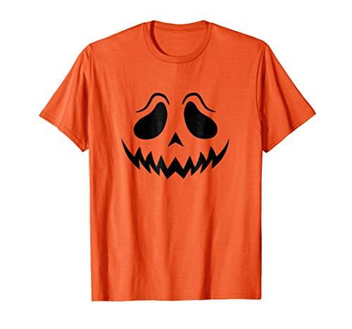 (Jack-O-Lantern Halloween Pumpkin sad eyes Face)