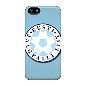 Iphone Covers Cases - Estonia Football Logo Protective Cases Compatibel With Iphone 5/5s