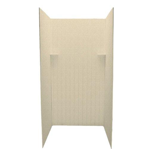Swan DK-363672BB-063 36 x 36 x 72 3-Piece Shower Wall Surround, Cornflower
