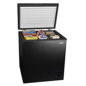 5cf Chest Freezer Deep 5 Cu Ft Compact Dorm Upright Apartment Home Food Storage Compact Space Saving Energy Efficient