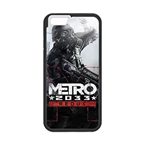 games Metro 2033 Redux Game iPhone 6s 4.7 Inch Cell Phone Case Black Gift xxy_9880026