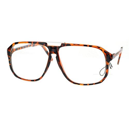 Nerdy Urkel Thin Plastic Vintage Retro Oversize Clear Lens Eye Glasses - Lmfao Glasses