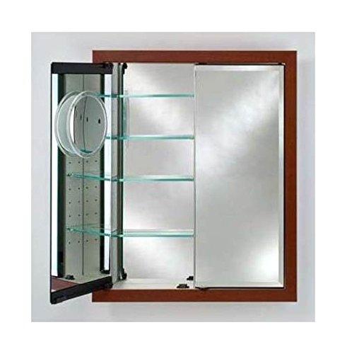 - Afina DD3136RARLCE Double Door Recessed Medicine Cabinet with Arlington Frame, 31