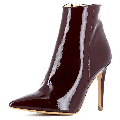 Evita Bottines Verni Femme Shoes Alina Bordeaux Cuir AwCqrAWO