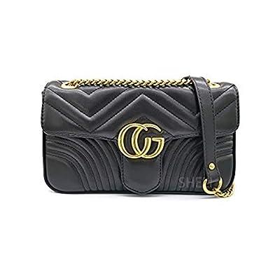 Shoulder Bag Crossbody Lattice Leather Purse for Woman Teen Girls