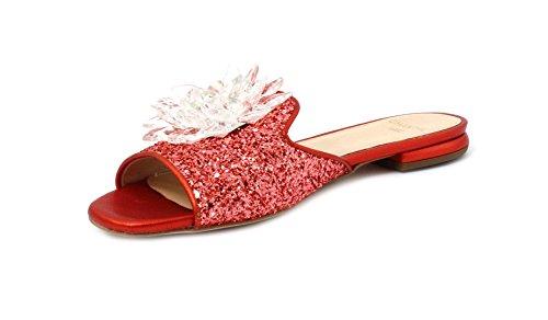 Corallo Slipper Glitter Chantal 41 Rosso 632 Colore Taglia zwxpqvEg