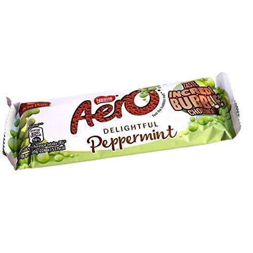 Nestle Aero Mint Chocolate Bar - 36g - (Pack of 12)