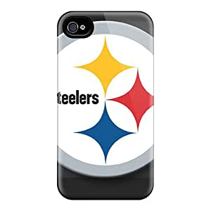 Hot Snap-on Pittsburgh Steelers Hard Covers Cases/ Protective Cases For Iphone 4/4s
