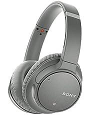 Sony WH-CH700N Draadloze Noise Cancelling Hoofdtelefoon, Bluetooth, Snellaadfunctie, NFC, met Microfoon, Grijs