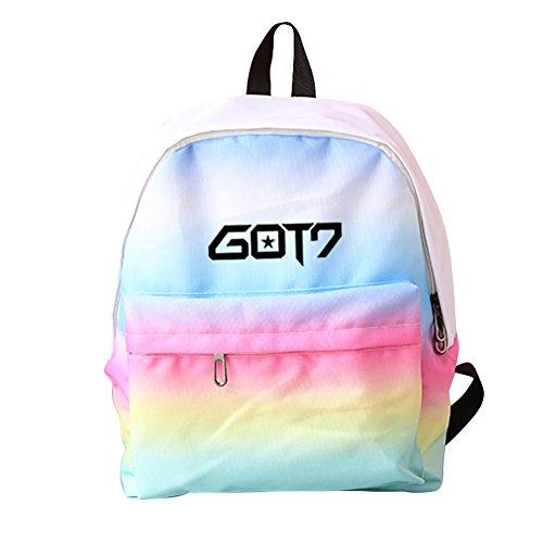 Discovery Bolso al hombro para hombre Got7-rainbow