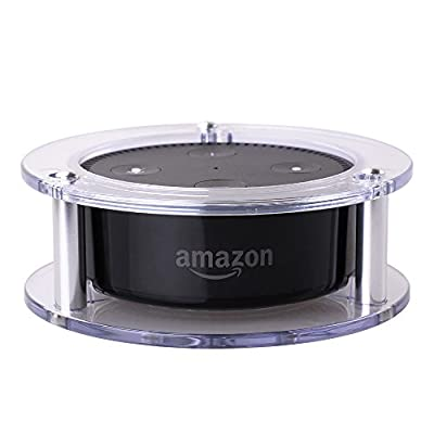 OYOCO Acrylic Speaker Stand Ceiling Wall Mount Stable Holder for Amazon Echo Dot 2nd Generation
