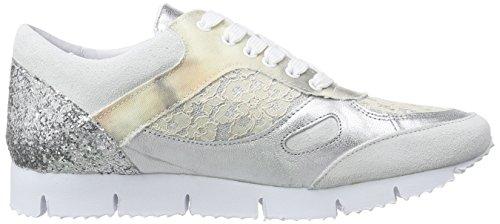 Piazza 850303 Damen Sneakers Weiß (white sugar)