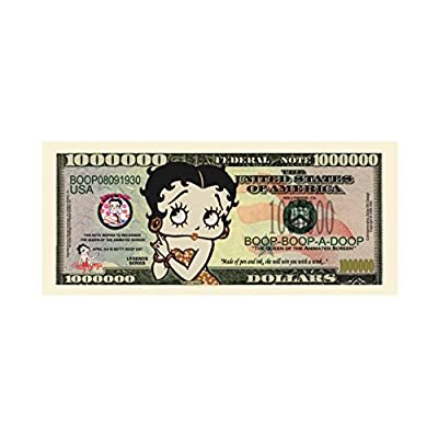(10) Betty Boop Million Dollar Bill: Toys & Games