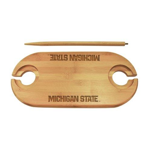 Michigan State Bamboo Picnic Table