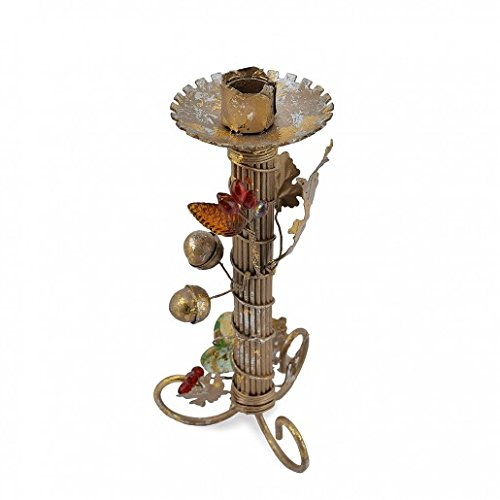 Yellow Door The Decorative Berries & Vine Candle Holder T-Light Stand Home Décor Showpiece Gift Large by Yellow Door