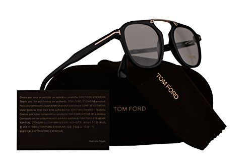 Tom Ford FT5495 Eyeglasses 48-21-145 Black w/Demo Clear Lens 001 TF5495 FT 5495 TF - Ford Glasses Men Reading Tom