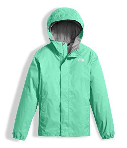 The North Face Girl's Women's Resolve Reflective Jacket - Bermuda Green - L (Past Season)