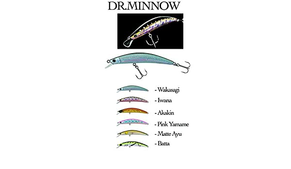 Discontinued Models Minnow Lures Dr Daiwa