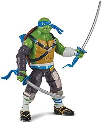 Las Tortugas Ninja 2 - Hablar Deluxe Figura - Leonardo (Idioma Inglés)