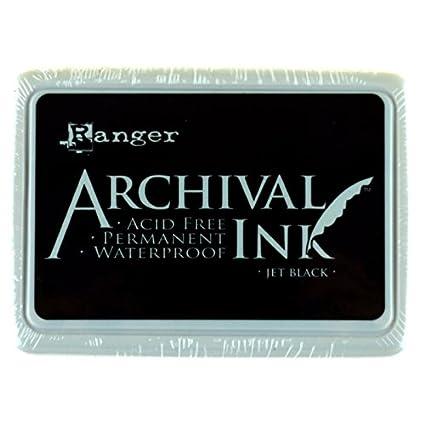 Ranger Aip 31468 Archival Ink Pads   Jet Black by Ranger