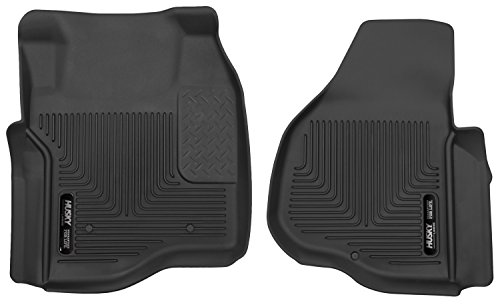 Husky Liners Front Floor Liners Fits 11-16 F-250/F-350 Crew Cab/SuperCab