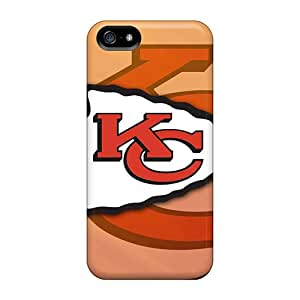 Hard Plastic Iphone 5/5s Cases Back Covers,hot Kansas City Chiefs Cases At Perfect Customized