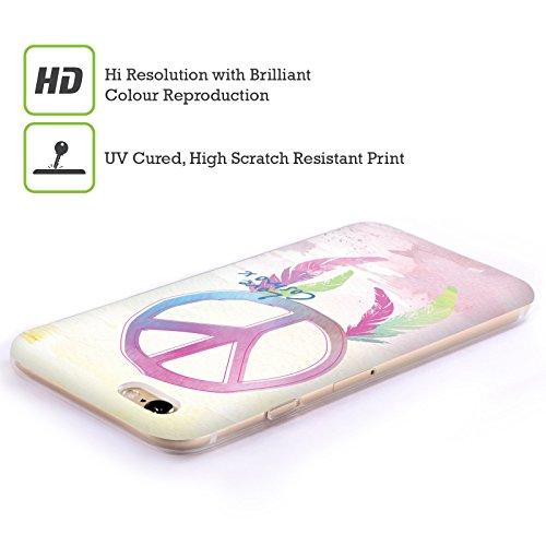 Official Cosmopolitan Peace Boho Soft Gel Case for Apple iPhone 5 / 5s / SE