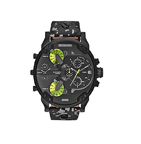 Diesel Watches Mr. Daddy 2.0 Watch (Grey)