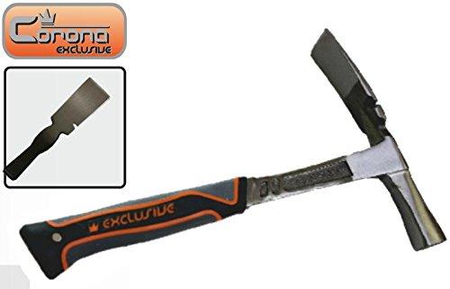 corona-exclusive-heavy-duty-masonry-bricklayers-hammer-600-gr-solid-one-piece-body-corona-c2227-by-c