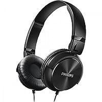 Philips SHL3060BK/00 Fone de Ouvido Estilo Dj com Graves Nitidos, Preto