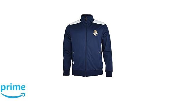 Real Madrid- Sudadera para Hombre, color Navy- White. Talla XL: Amazon.es: Ropa y accesorios