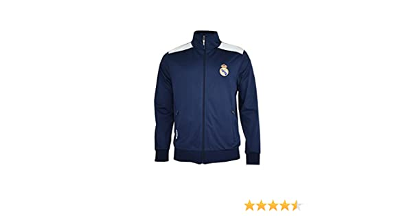 Real Madrid- Sudadera para Hombre, color Navy- White. Talla XXL ...