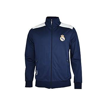 Real Madrid- Sudadera para Niño, color Navy- White. Talla 14 años: Amazon.es: Deportes y aire libre