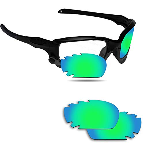 Fiskr Anti-Saltwater Replacement Lenses for Oakley Jawbone Vented Sunglasses - Various Colors ()