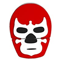 By Mexico USB modelo Máscara de Luchador Rojo 8 GB