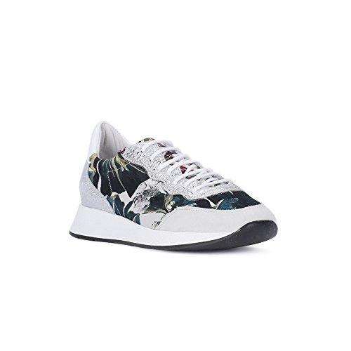 Frau Chaussures de Sport D'Extérieur Pour Femme Multicolore 36 EU Bianco-Argento JUQA9