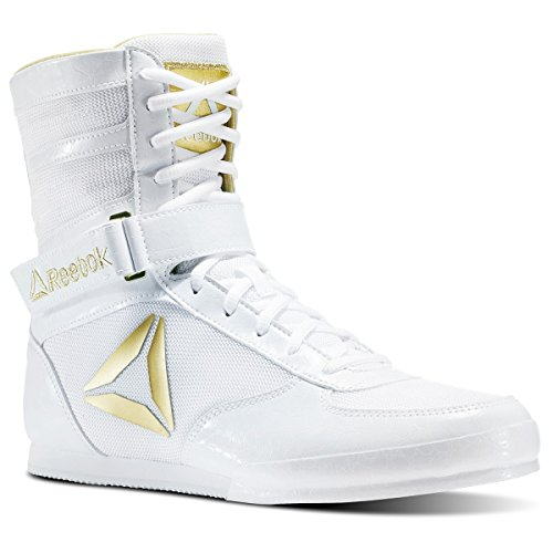 Reebok Men's Boxing Boot-Buck Cross Trainer White/Gold buy cheap online discount fashionable high quality online sale deals nzdZtNgi