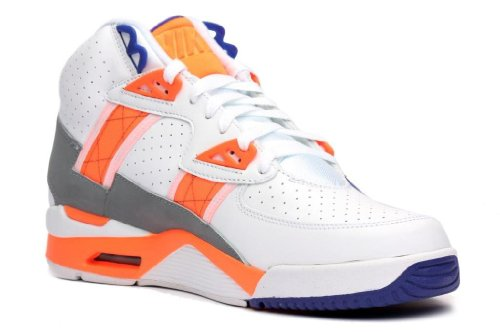 NIKE Air Trainer High SC Mens Cross Training Shoes 302346-106 White 9 M US (Nike Sc Trainer High)